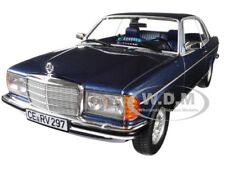 1980 MERCEDES BENZ 280 CE COUPE BLUE METALLIC 1/18 DIECAST MODEL BY NOREV 183589