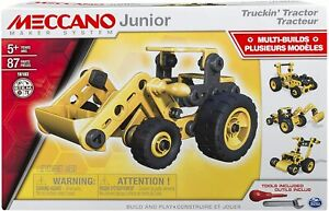 Meccano Junior Truckin Tractor Multi Build Set