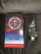 Superman Hall of Heroes Statue Trophy Figure Kryptonite Gentle Giant 9 inch rare