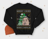 Ho Ho Homies Christmas Jumper Sweater Top Paris New York Funny Elf Santa Gift
