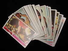 Lot of 94 Different 1976-1977 Topps Basketball Cards – EX-EX/MT