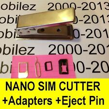 Nano SIM Card Cutter for Apple iPhone 5,5c,5S,6,Plus + iPad Mini 1,2,3 + Air 1,2