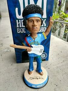 Jimi Hendrix Night *OFFICIAL* Seattle Mariners Bobblehead Pilots 6/22/19 SGA 50