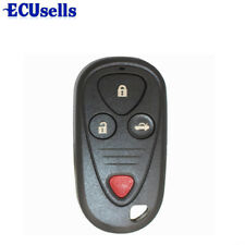 4 Buttons for Honda Acura TSX TL RL CL Keyless Entry Remote Key Fob Shell Case