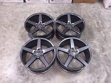 "20"" ruedas cóncavo veemann V-FS8 Brillo Gun Metal-VW/Audi/Mercedes 5x112"