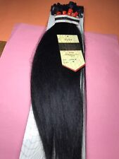 """Jazz Wave Collection_100% Remy Human Hair 16""""_#1B_Clip_On Extension_5_Pcs"""