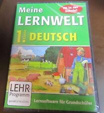 Lernsoftware für Grundschüler 1. Klasse Deutsch Lernhilfe Meine Lernwelt NEU