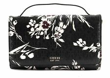 GUESS Tamra Wallet On A String Black Floral