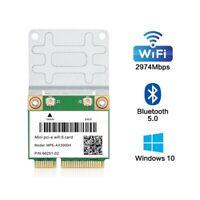 MPE-AX3000H Dual Band WiFi 6 Mini PCIE PCI-E Card 802.11AX wifi Bluetooth 5.0