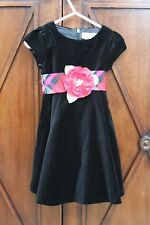 Sweet Heart Rose Girls Dress With Bow Sash Size 2