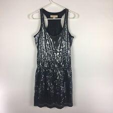 Michael Kors Womens Small Sequin Mini Dress Sleeveless *Read*. B4