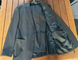"""Big & Tall XXL Tailored Suit """"Studio Italia"""" - Extra Length in Sleeves & Pants."""