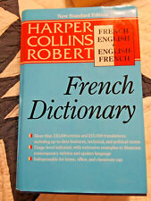 French-English,English-French Dictionary Harper Collins Robert New Standard Ed.