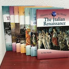 Set of 7 History of The World Book Lot Kidhaven Press Homeschool History Readers