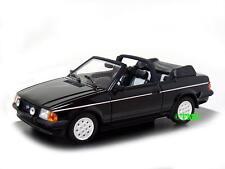 Ford Escort III Cabrio  1983-1985   schwarz    /  Minichamps  1:43