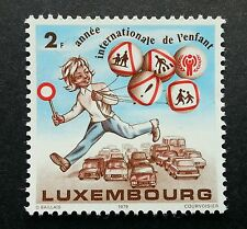 Luxembourg International Year Of The Child Road Safety 1979 Cartoon (stamp) MNH