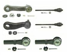 For Chevrolet GMC Inner & Outer Steering Tie Rod Ends & Idler & Pitmans Arm Kit