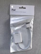 Apple Dock Connector to VGA Adapter for iPad, iPhone and iPod Touch