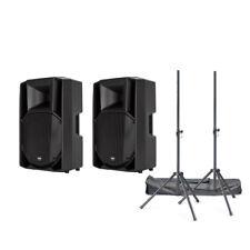 RCF Art 715-a Mk4 Digital Active PA Speaker Bundle (new)