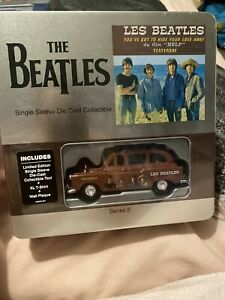 """The Beatles YESTERDAY 7"""" Single Sleeve Diecast Taxi + XL T-shirt + Wall Plaque"""