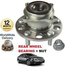 FOR HONDA LEGEND 3.5 V6 5/2006 --> NEW REAR WHEEL BEARING + HUB NUT KIT