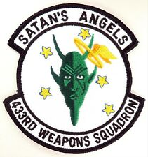 USAF 433rd WEAPONS SQUADRON PATCH