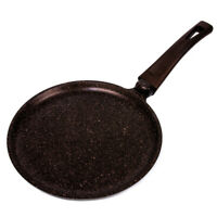 "9.4"" Non-Stick Crepe Pan Skillet with Stay Cool Soft Handle Made in Ukraine BIOL"