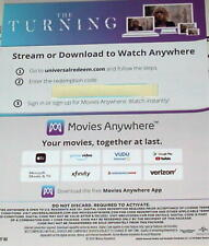 Mackenzie Davis THE TURNING (2020) Digital HD Movie - GHOSTS!!