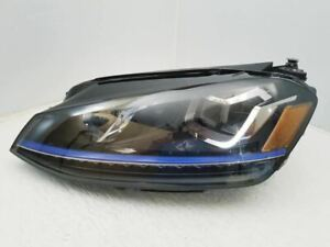 Volkswagen E Golf Left LED Headlight 15 16 17 OEM