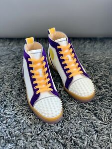 Christian Louboutin Limited*** Lakers Kobe Bryant high-top Sneaker Mamba Forever