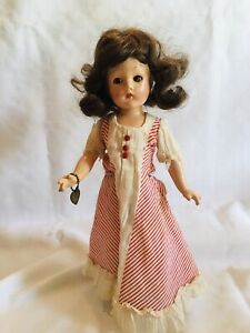 """Vintage/Antique Effanbee Doll, Suzanne, 13.5"""" Tall, Composition Body, 1940's"""