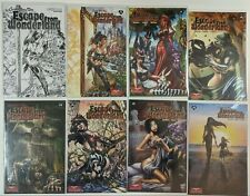 Grimm Fairy Tales Presents Escape From Wonderland #0 & 1-6 COMPLETE LOT + Sketch