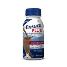 Ensure Plus Oral Supplement 350 Cal, 8 oz. Bottle, Chocolate -1 Count