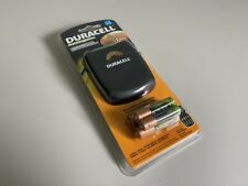 Duracell Quick Charger with Rechargeable Batteries New Sealed in Box