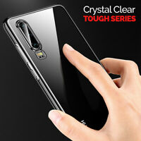 CLEAR Case For Huawei P30 P30 Pro Lite Cover Shockproof Silicone Gel TOUGH