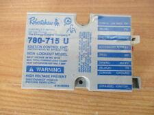 Robertshaw 780-715 U Ignition Control Unit Module 018-00352 USED FURNACE HEATER