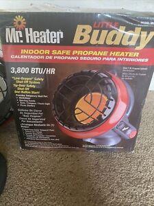Mr. Heater MH4B Little Buddy 3800-BTU Indoor Safe Propane Heater