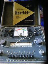 heathkit tube checker model TC-2