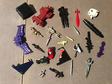 Transformers G1 Vintage Original Parts Weapons Accessories Lot of 25 #1