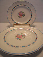 "Lot of 3 Vintage Wedgwood Corinthian Evenlode 6.5"" Bread Plates"