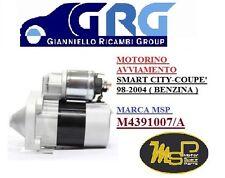 MOTORINO AVVIAMENTO SMART CITY COUPE' - FORTWO BENZINA M4391007A  63191007