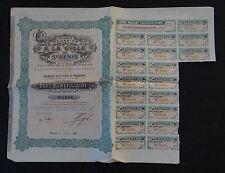 ACTION Magasin A LA VILLE DE SAINT-DENIS Paris 1910 titre bond share stock verte