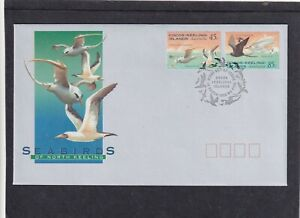Cocos (Keeling) I 1994 Sea Birds First Day Cover FDC Cocos pictorial fdi h/s