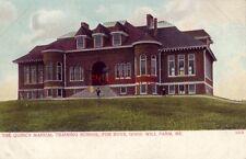 pre-1907 THE QUINCY MANUAL TRAINING SCHOOL FOR BOYS, GOOD WILL FARM, MAINE