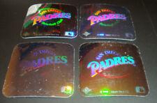 1990 Upper Deck Baseball Hologram Stickers San Diego Padres RETRO LOGO (Lot x4)