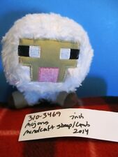 Mojang Mind Craft White Sheep 2014 plush(310-3469)