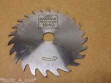 Sandvik Mini Carbide 138mm x 20mm x 24 Teeth Circular Saw Blade (v)