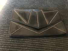River Island Black Clutch Bag