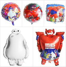 5pcs Big Hero 6 Giant Helium Foil Balloons Decoration ​Kid Boy Girl Party Supply