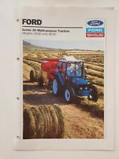 NEW HOLLAND FORD 3930 & 4630 TRACTOR SALES BROCHURE